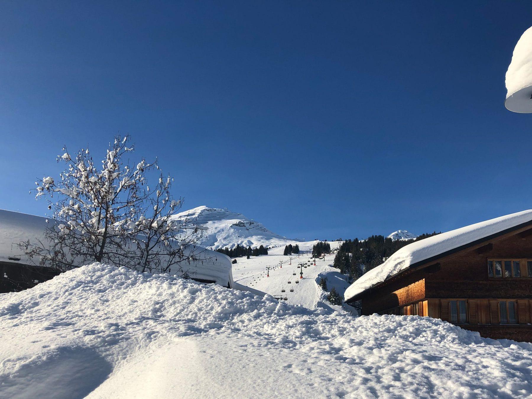 Wunderschöne Lech Webcam Ausblicke im Winter
