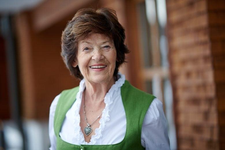 Inge Schneider - Seniorchefin vom Haus Schneider