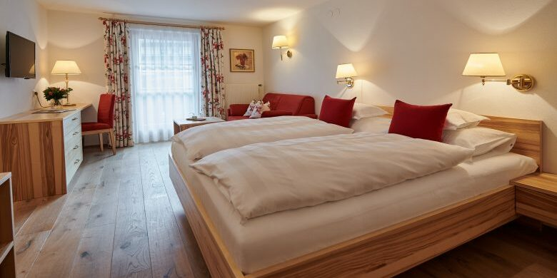 View of the Omeshorn, a superior double room